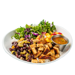 LIMITED TIME ONLY: CARIBBEAN JERK CHICKEN BOWL
