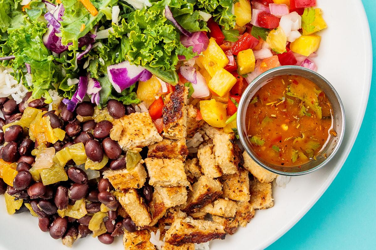 Caribbean Jerk Chicken Bowl